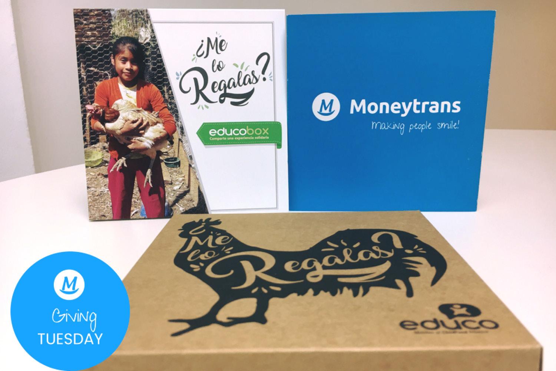 Moneytrans offre des cadeaux solidaires à ses employés