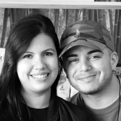 Nathalie Olivo y Jesús Pérez
